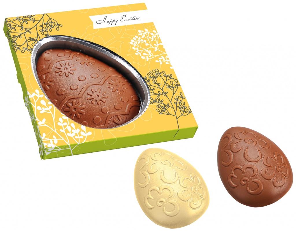 Ostersüßigkeiten jetzt auch aus weisser Schokolade!