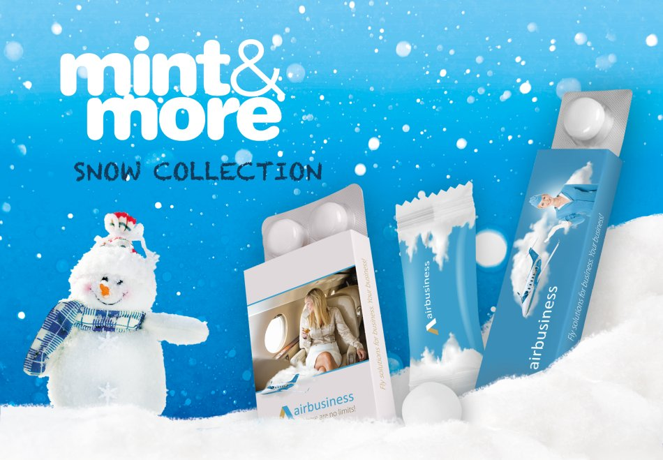 Mint&More Snow Collection