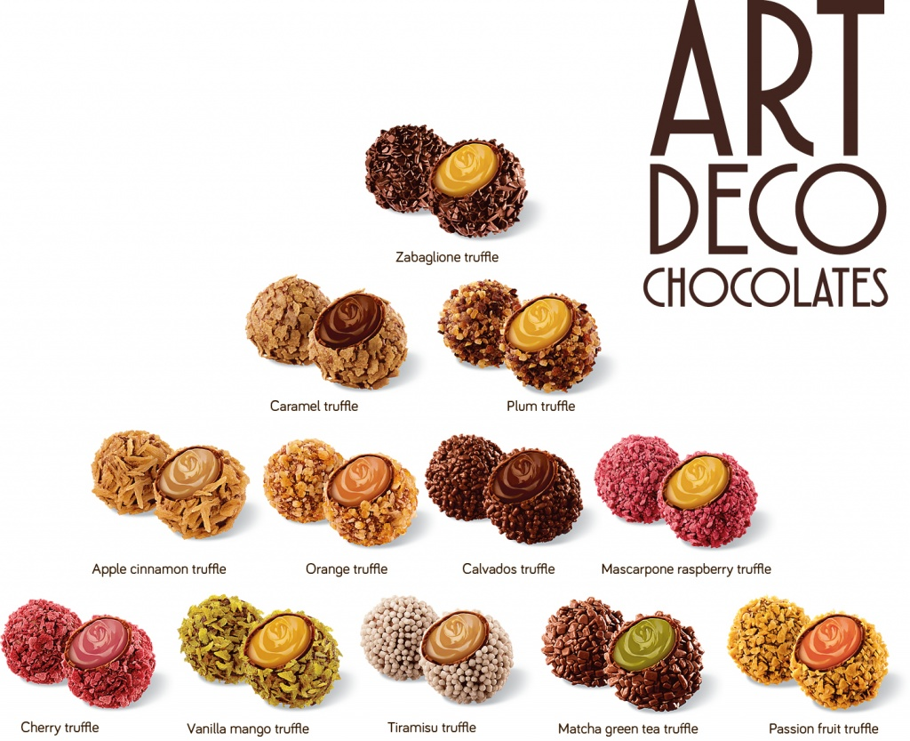 ART DECO TRUFFLES