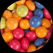 drażetki Dots owocowe