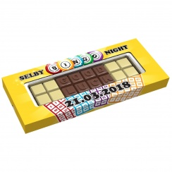 CHOCO TEXT Dwie Linie/Dwie Linie Separate