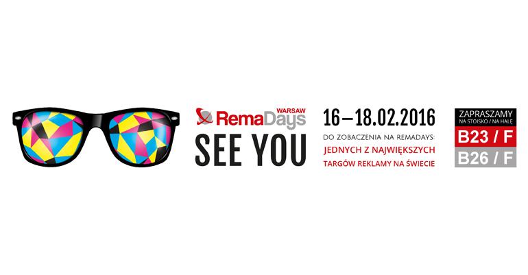 RemaDays 2015, 16 -18 lutego