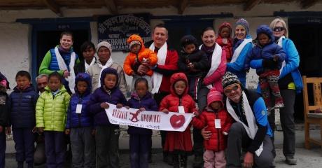 Podarowaliśmy uśmiech dzieciom w Nepalu!