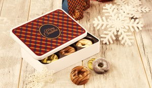 Czekoladowe Donuty w świątecznej ofercie