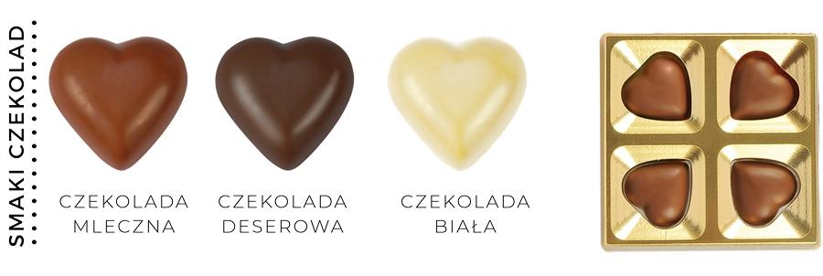 HEART TO HEART SMAKI CZEKOLAD