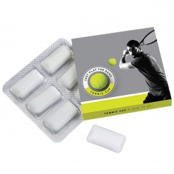 CHEWING GUM BLISTER 6 PCS.