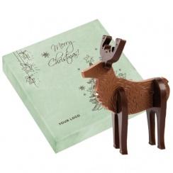 Reindeer Choco Puzzle 3D