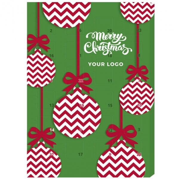 Kalendarz Adwentowy Choco Logo