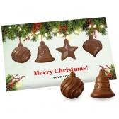 Świąteczna Kartka z Bombkami