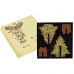 Christmas Tree Choco Puzzle 3D