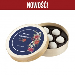 Snowballs in Wooden Box