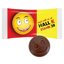 CHOCOLATE SMILEY FACE
