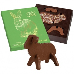 3D EASTER LAMB CHOCO PUZZLE