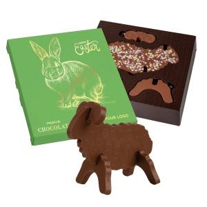 Wielkanocne Choco Puzzle 3D