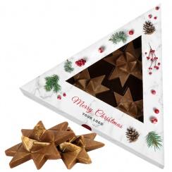 3 CHOCOLATE STARS