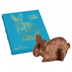 3D EASTER BUNNY CHOCO PUZZLE