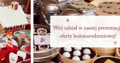 Zapraszamy na naszą prezentację oferty bożonarodzeniowej!
